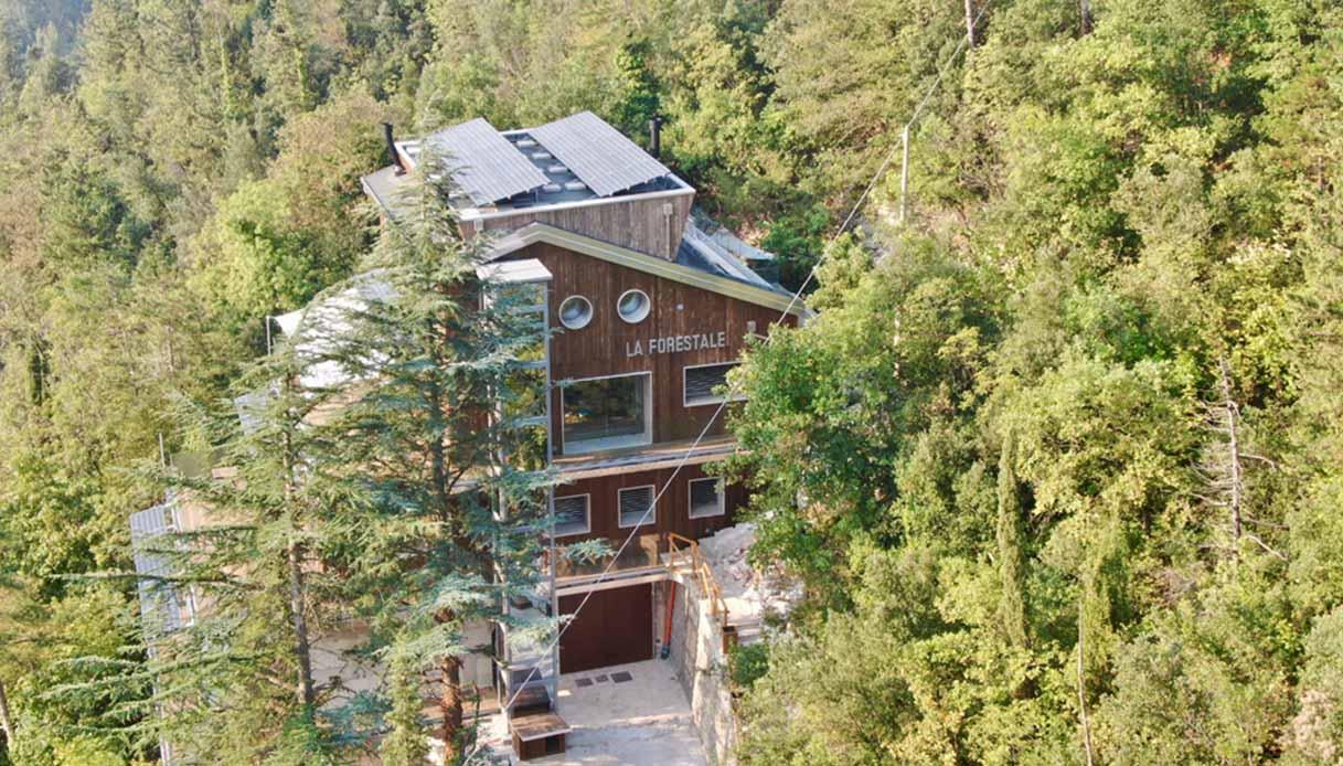La Forestale, hotel ecologico di lusso