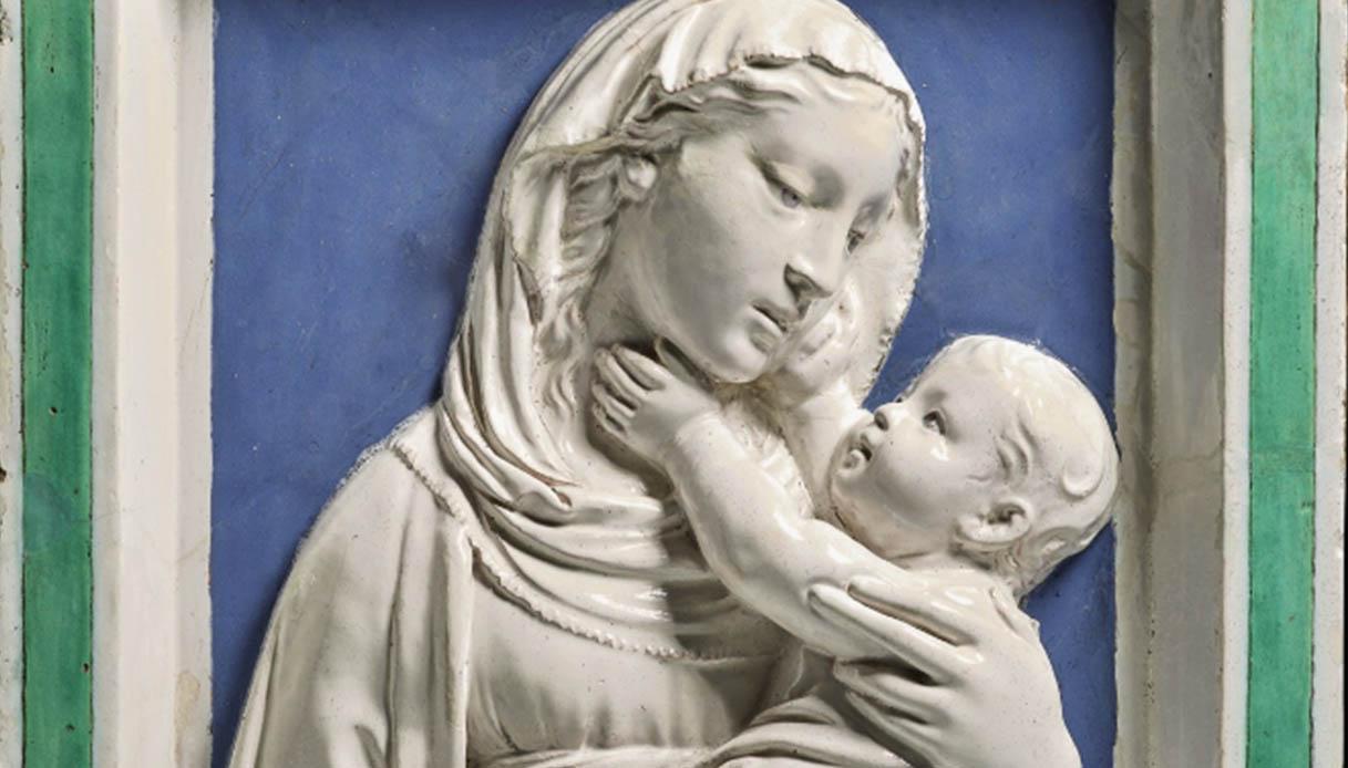 La Madonna di Santa Fiora dei Della Robbia