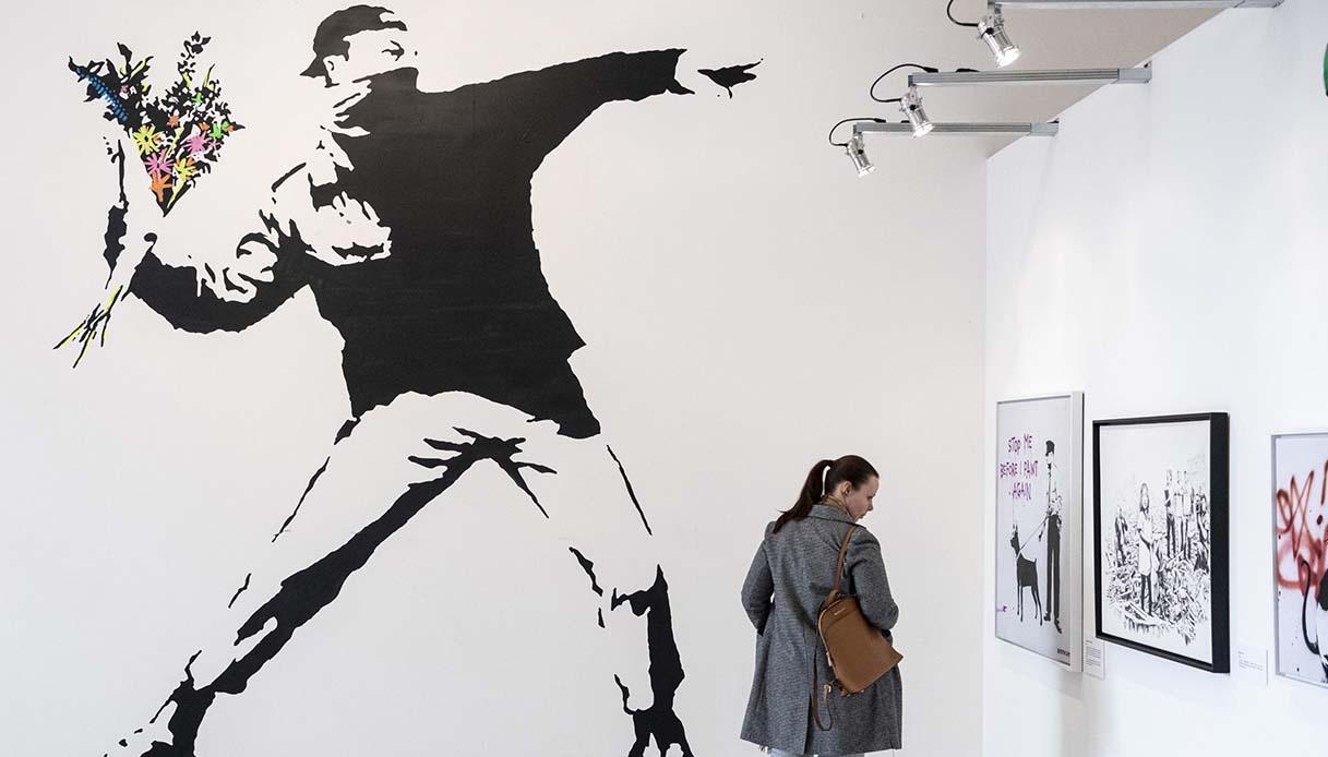Mostra di Banksy a Sarzana