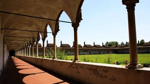 Lungo il Cammino di Compostela della Lombardia
