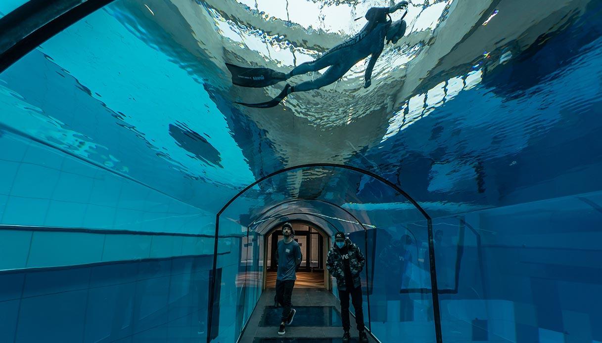 deepspot tunnell sotteraneo