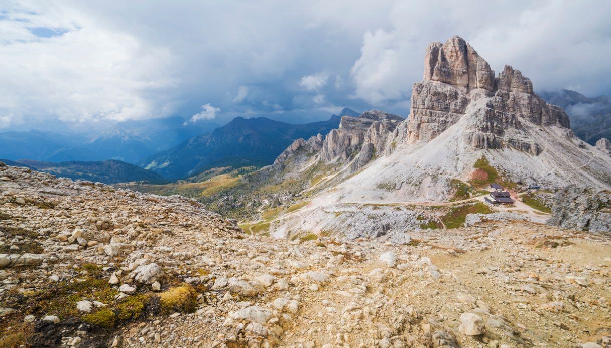 sommità del monte Nuvolau