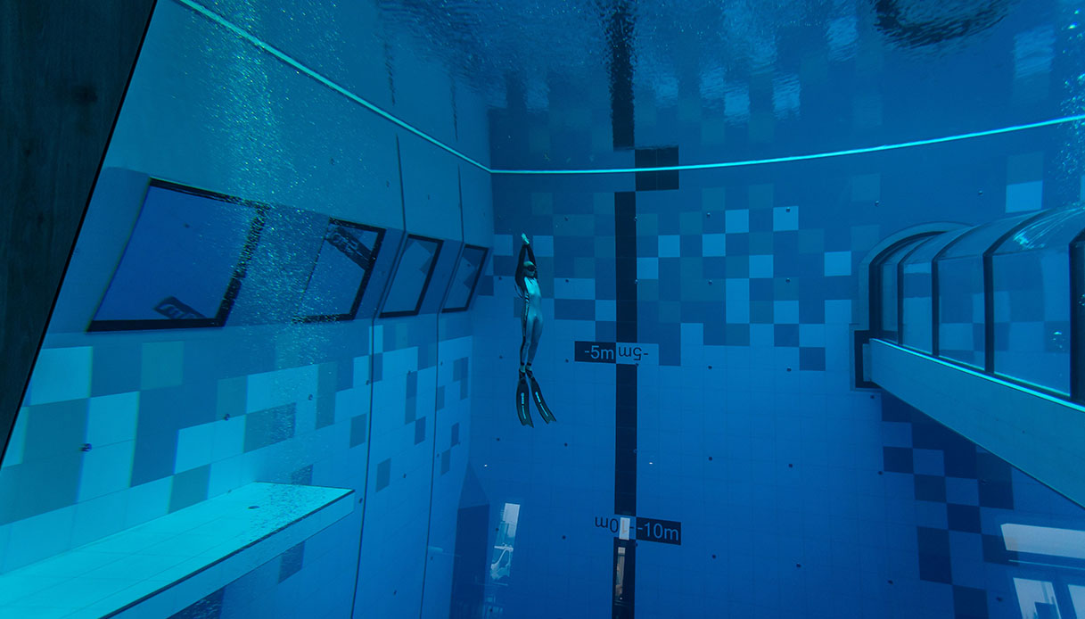 piscina più profonda del mondo