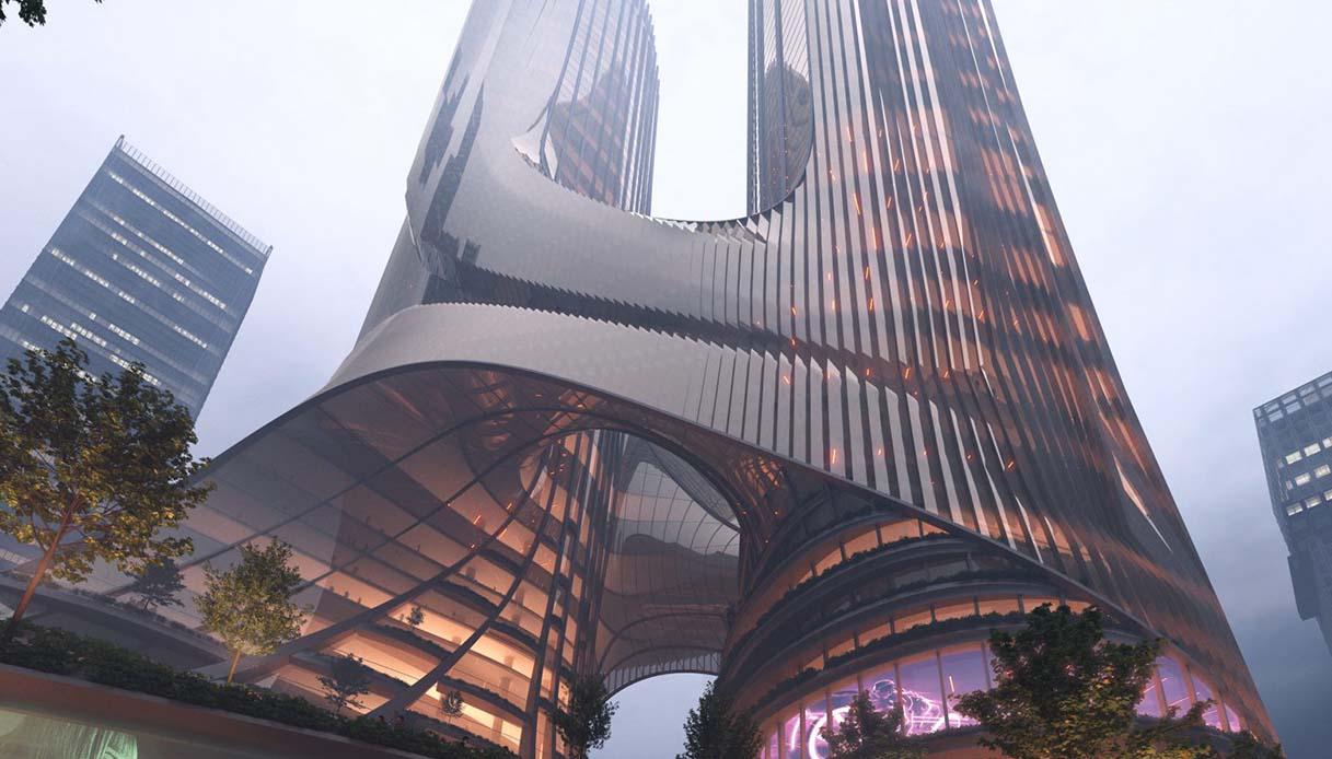 Tower C panorama
