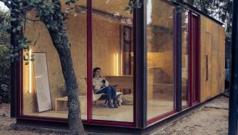 Tini office: lo smart working si sposta nel bosco