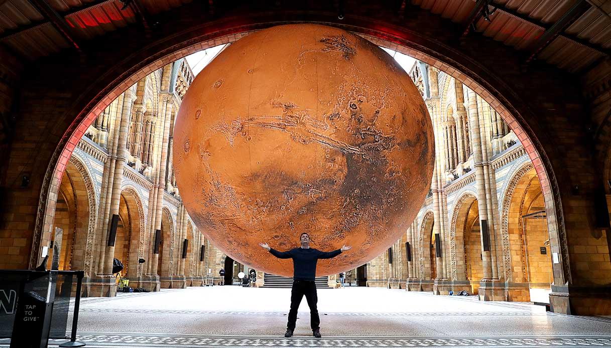 Mars, l'installazione a Londra
