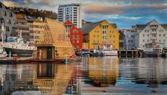 Destinazione Norvegia: le saune artiche galleggianti immerse nella natura
