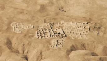 """In Iran riemerge un'antica città: è la """"Pompei d'Oriente"""""""