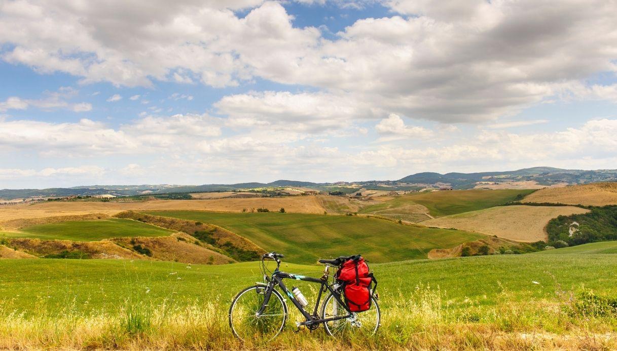 siena in bici
