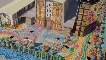 Il mosaico più grande d'Europa è in Italia. Ed è spettacolare