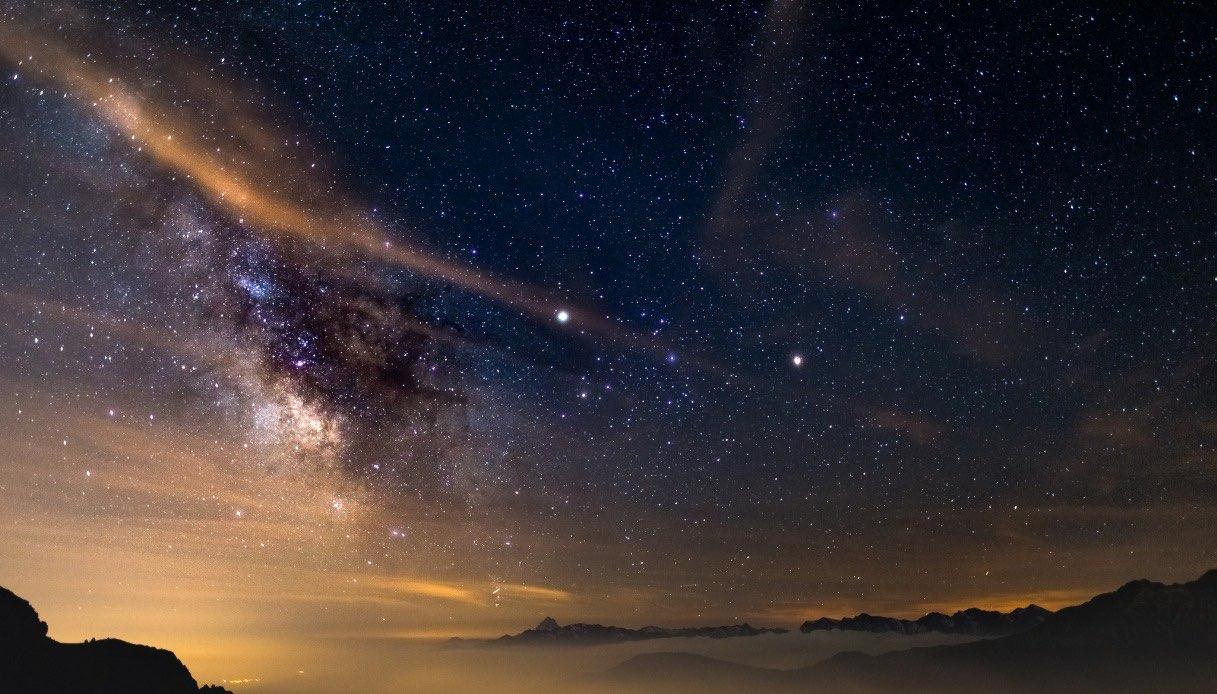 Cielo stellato in Italia