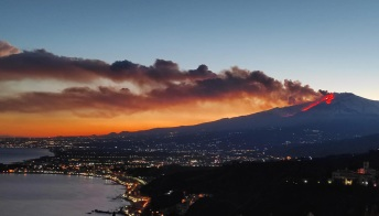 L'Etna e la sua eruzione: le immagini spettacolari del risveglio