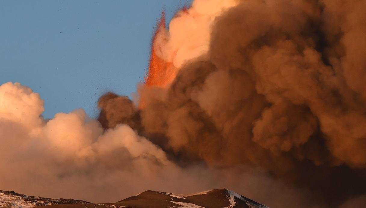 Etna, eruzione