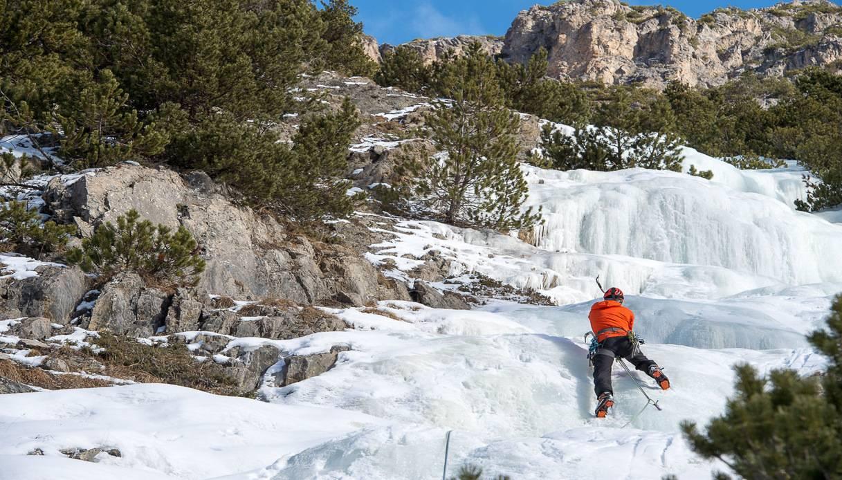 arrampicata ghiaccio livigno