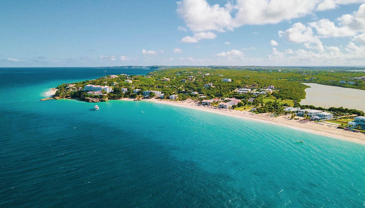 La bolla di Meads Bay, Anguilla