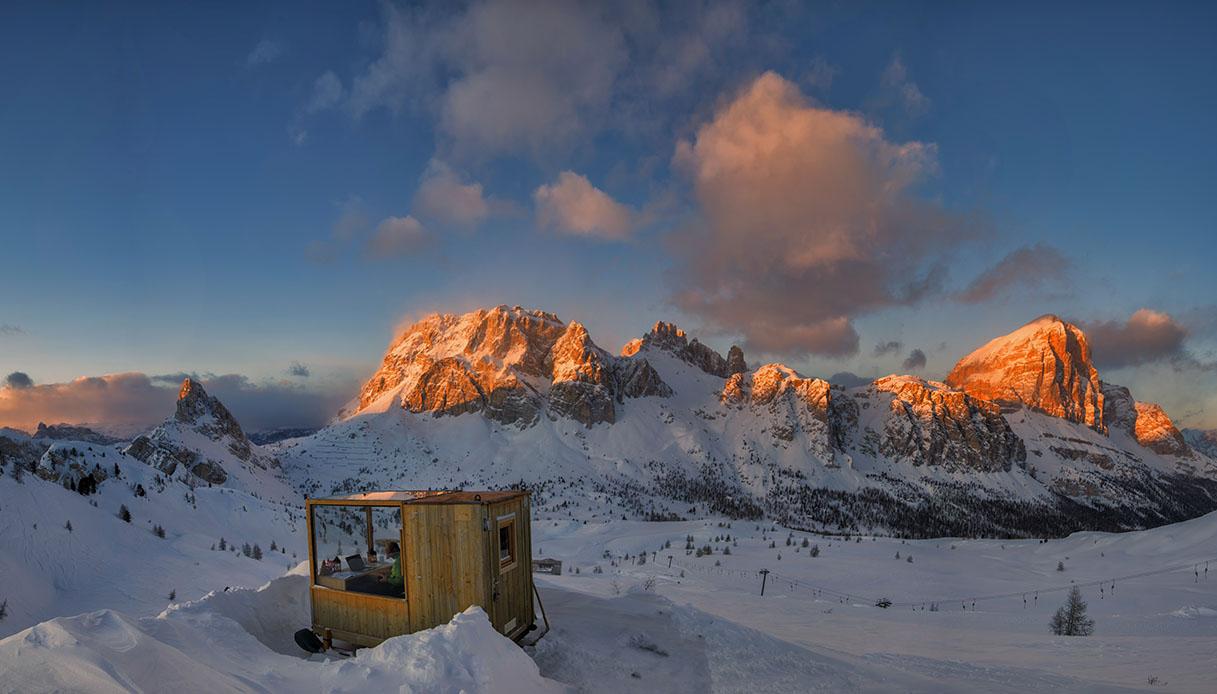 Ufficio con vista Dolomiti