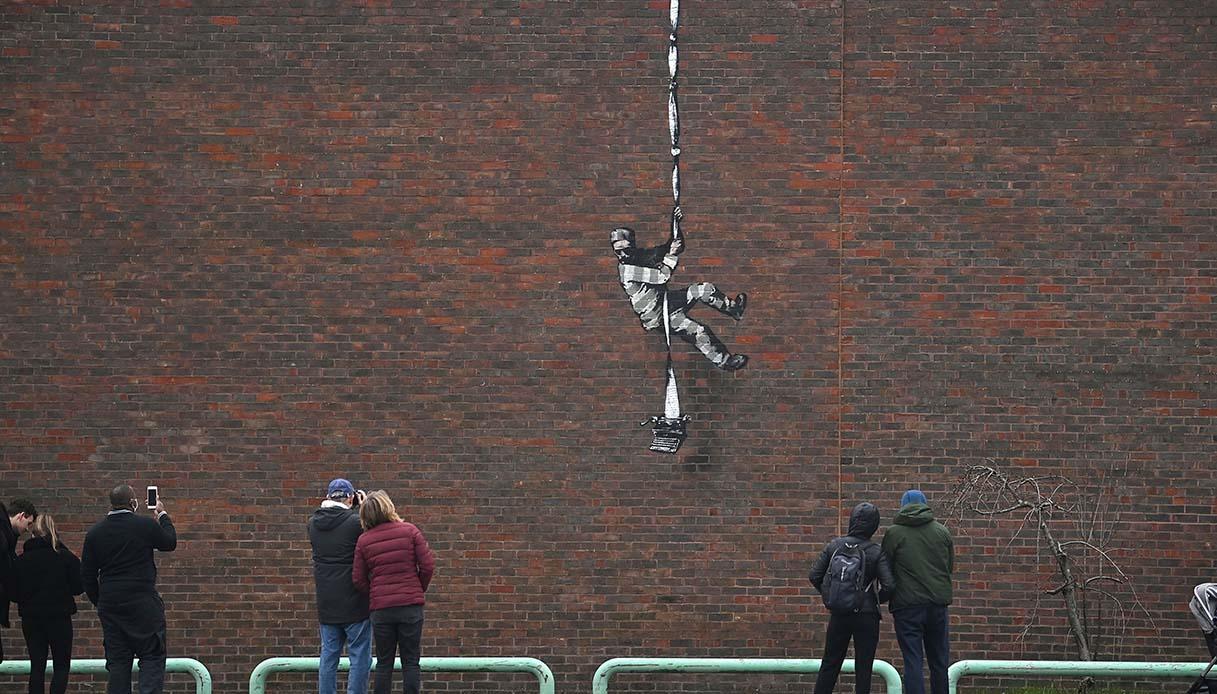 Banksy, nuovo murales