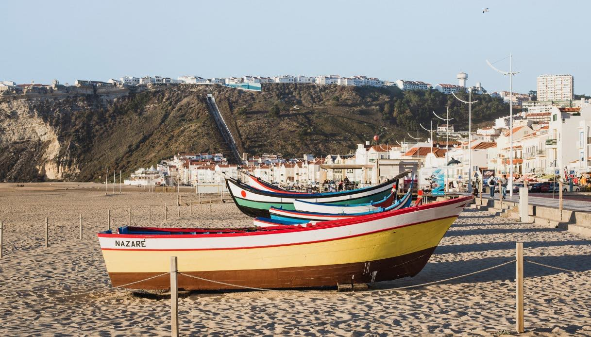 Nazaré barche tradizionali