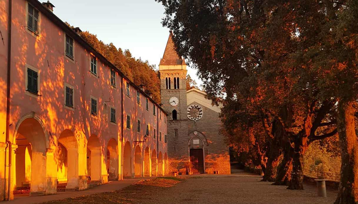 Santuario di SOVIORE a Monterosso al mare