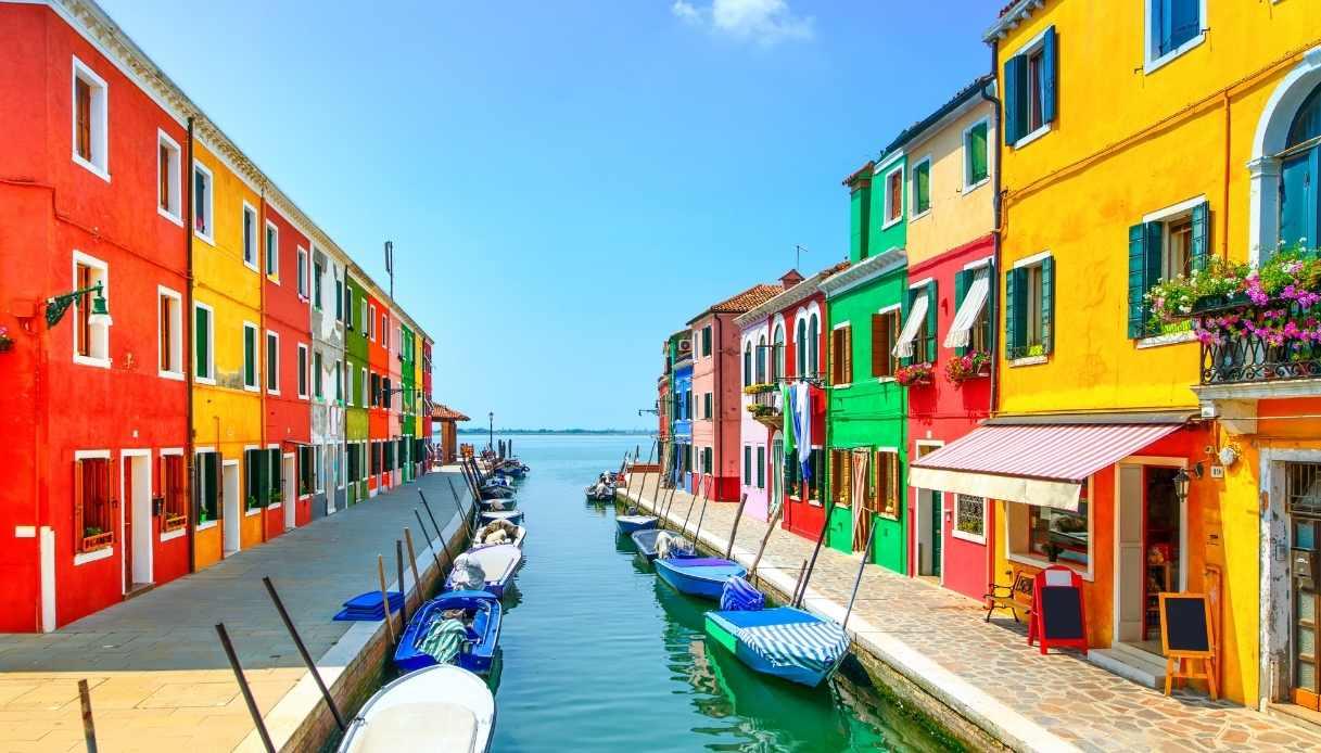 Barche a Burano, Venezia