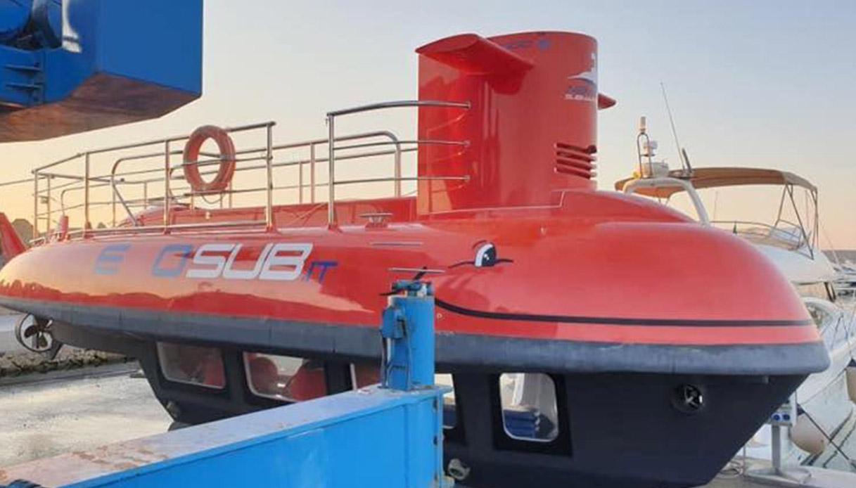 Nemo sub, il sommergibile di Baia