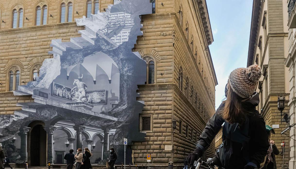 """Palazzo Strozzi e la sua """"ferita"""""""