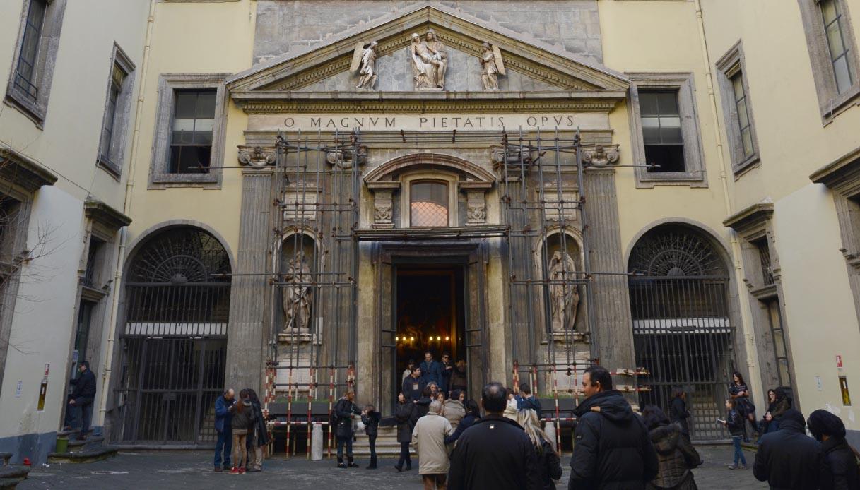 Monte di Pietà, ingresso