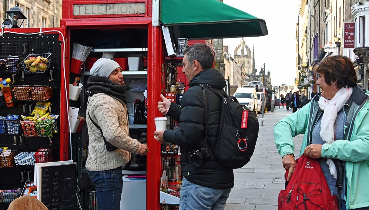 cabina telefonica edimburgo