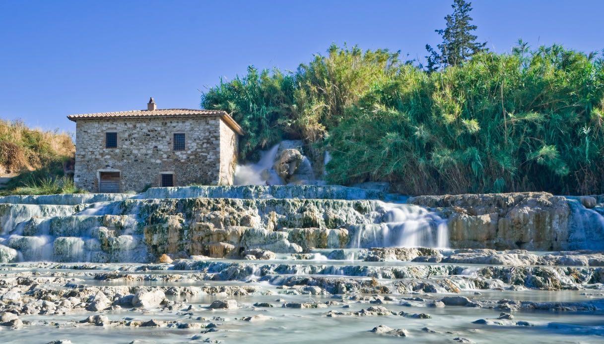 Cascate del Mulino l'accesso al benessere ai tempi del Covid