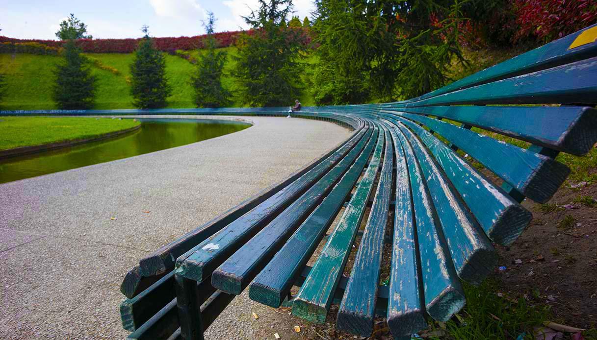 La panchina più lunga del mondo è a Milano