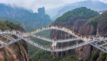 Il ponte fantascientifico e surreale che però esiste davvero