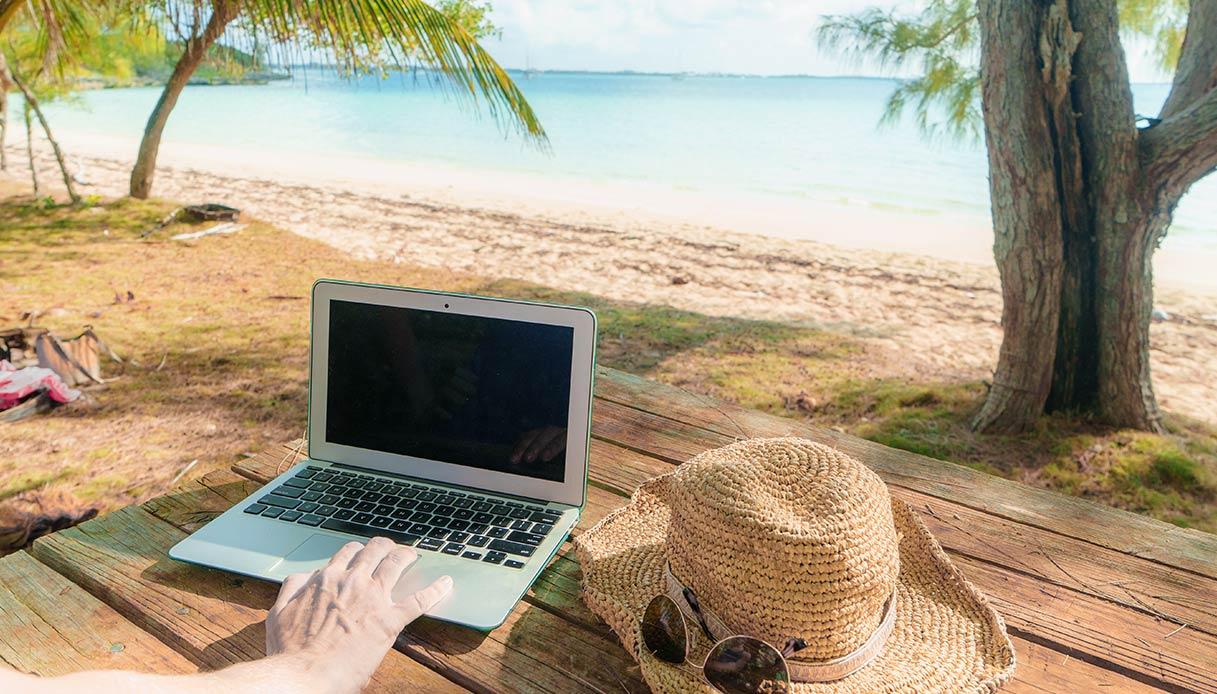 smart working vacanze
