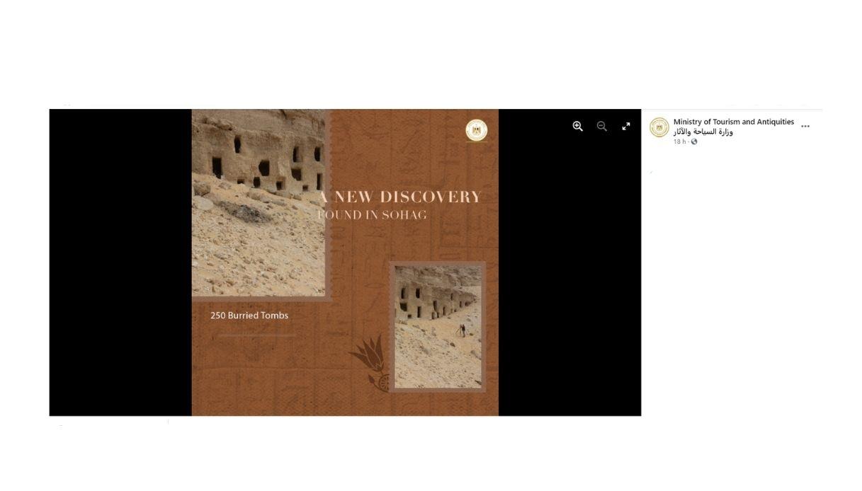 250 tombe scoperte Egitto centrale
