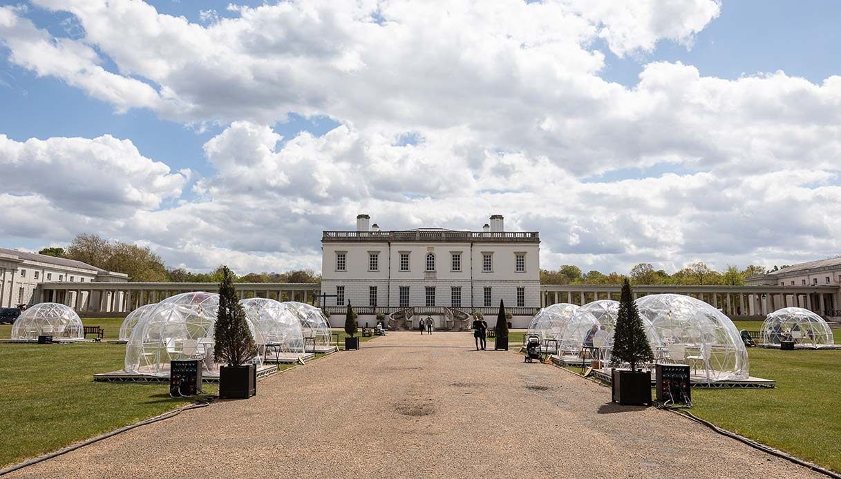Dining Domes at The Queen's House