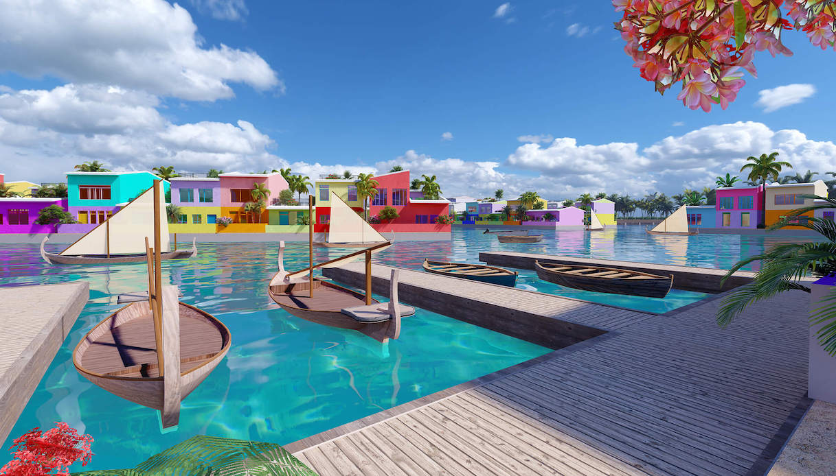 Maldives Floating City