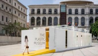 Madrid: nasce il museo in plastica riciclabile al 100%