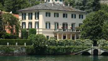 Un weekend al lago di Como nella villa di George Clooney