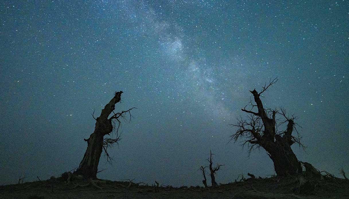 deserto Taklamakan foto
