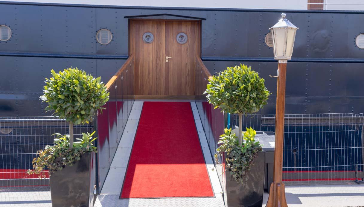Fingal Hotel, A Luxury Floating Hotel in Edinburgh