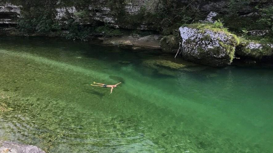 Natisone, il fiume a portata di mano