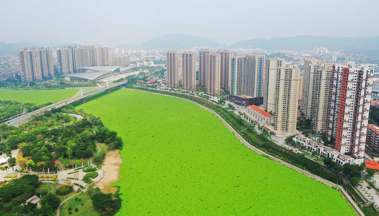 fiume Jin Jiang, che attraversa la città cinese di Quanzhou