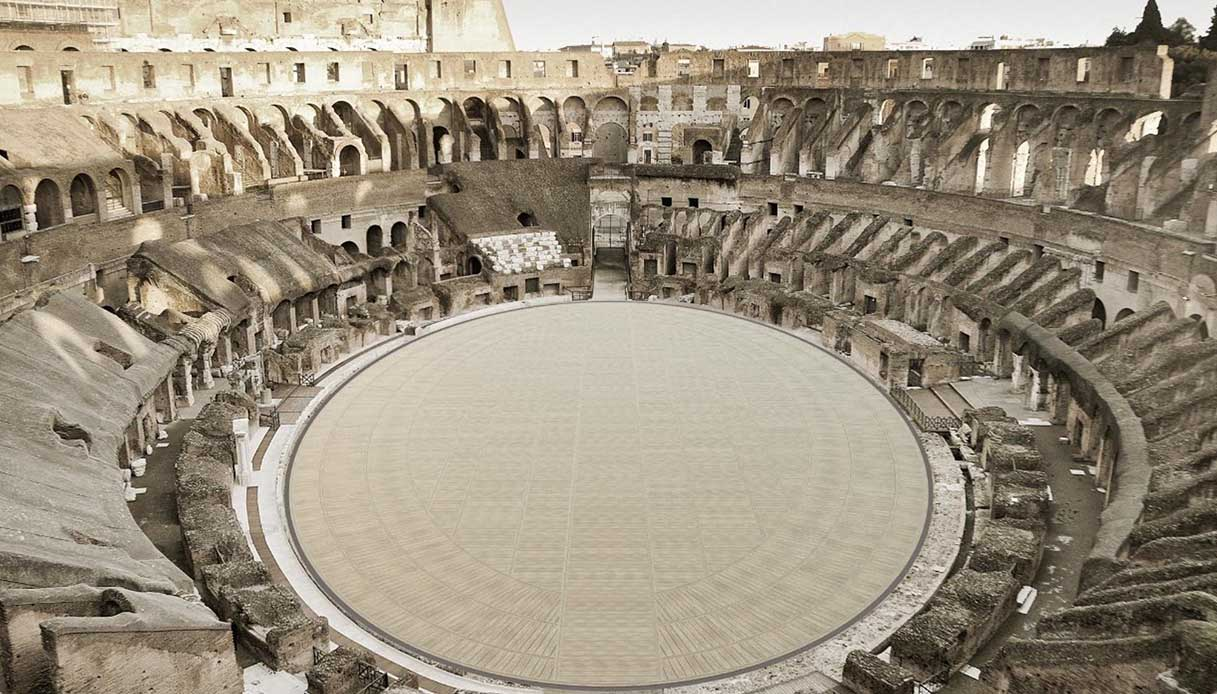Colosseo cambia look