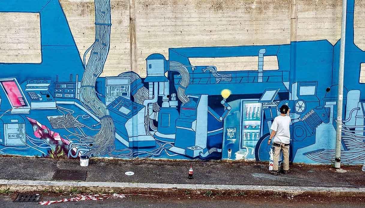 Street Art a Frascati, il progetto
