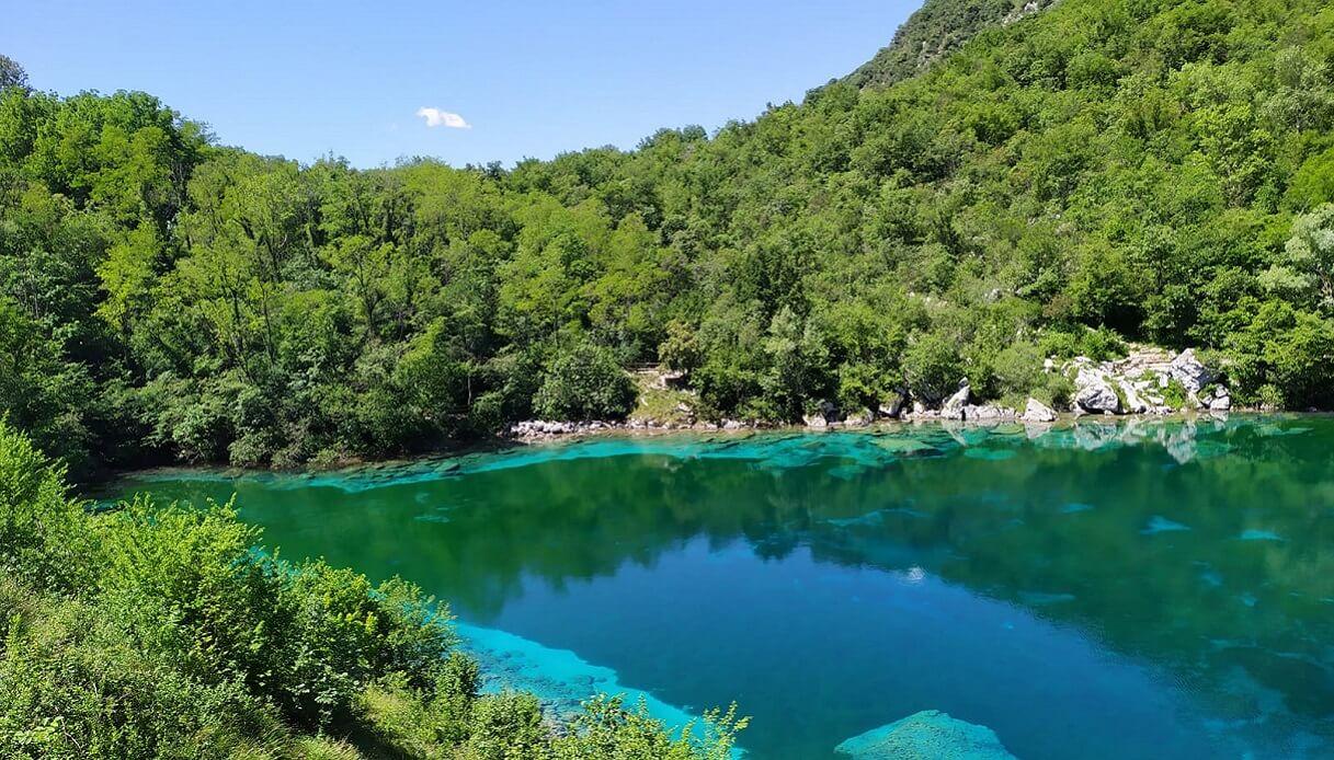 Lago di Cornino Friuli Venezia Giulia