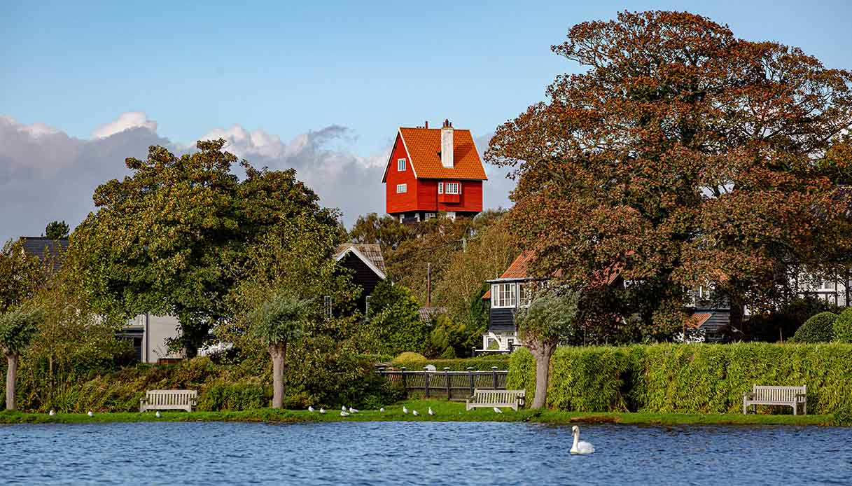 House in the clouds, Thorpeness