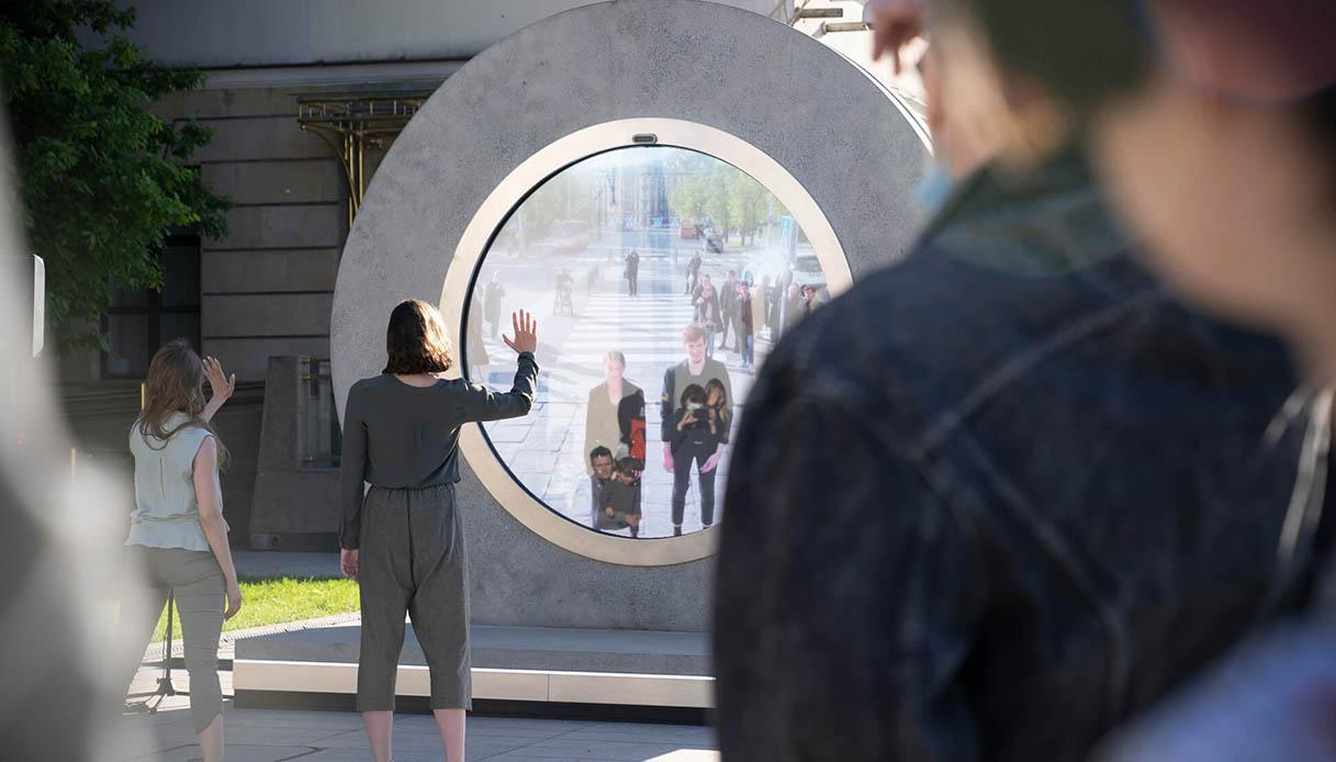 Il portale che collega Vilnius e Lublino