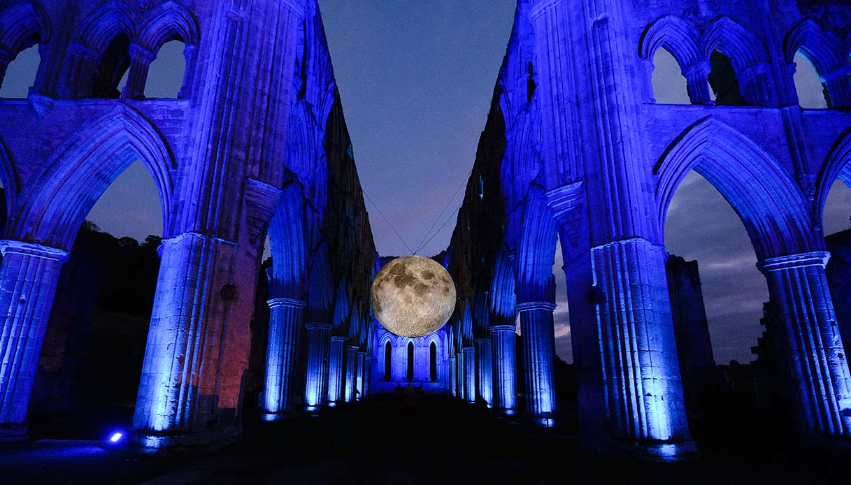 Rievaulx Abbey Hosts Museum Of The Moon