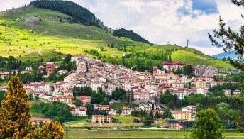 Rivisondoli, il borgo fortificato d'Abruzzo