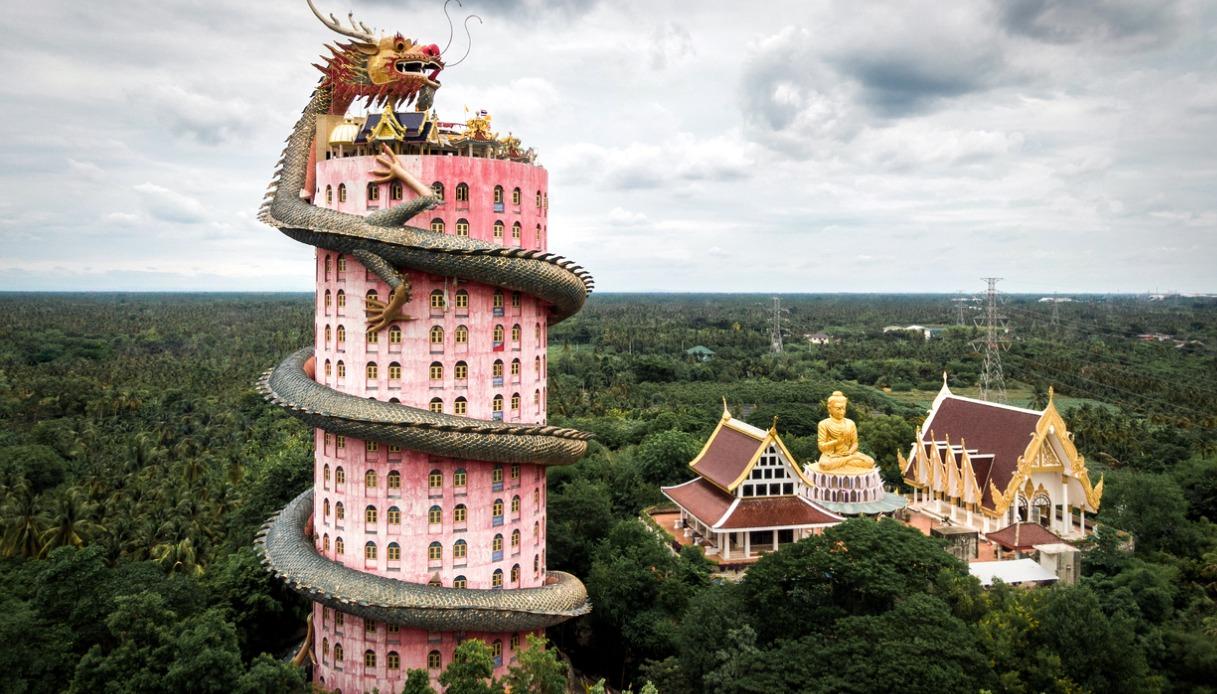 Tempio di Wat Samphran