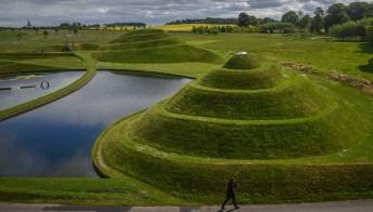 C'è un parco di Land Art a Edimburgo, ed è spettacolare